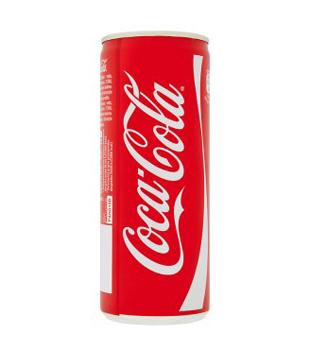 Coca-Cola 0,25l (plechovka)