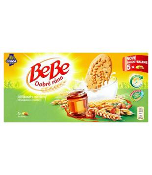 Opavia BeBe Dobré ráno cereální sušenky 250g, různé druhy
