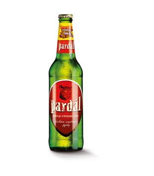 Pardál, světlé výčepní pivo