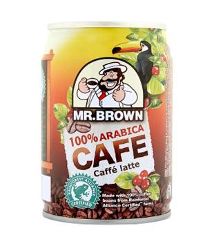 ledová káva Mr. Brown, různé druhy