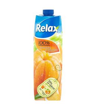 Relax ovocný džus 100% 1l, různé druhy