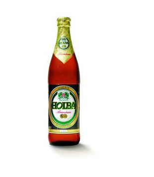 Holba Premium, světlé výčepní pivo