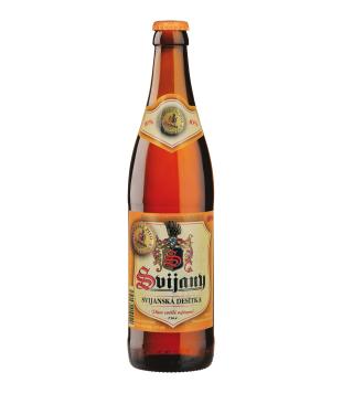 Svijany Svijanská Desítka, světlé výčepní pivo 0,5l