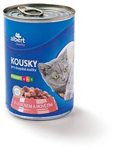 Albert Konzerva pro kočky, vybrané druhy
