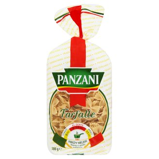 Těstoviny Panzani 500g, vybrané druhy