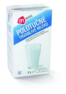 BASIC trvanlivé mléko polotučné