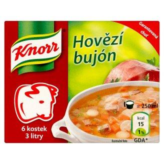 Knorr Bujón 6 kostek, vybrané druhy