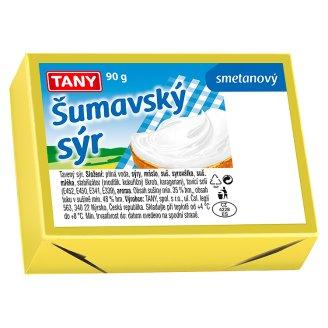 Tany Šumavský sýr (kostka) 90g, vybrané druhy