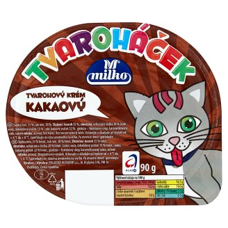 Milko Tvaroháček 90g, vybrané druhy