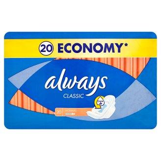 Always Classic hygienické vložky (18-20 ks), vybrané druhy