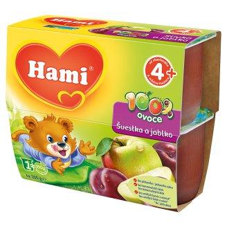 Hami 100% ovoce 4x100g, vybrané druhy