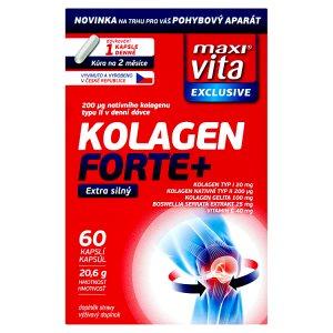 MaxiVita Kolagen Forte+ 60 kapslí 20,6g