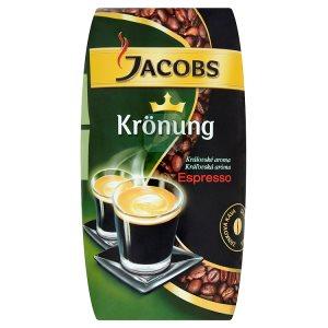Jacobs Krönung Espresso zrnková pražená káva 250g