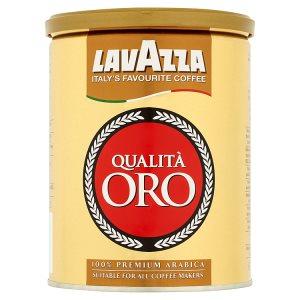 Lavazza Pražená mletá káva 250g plechovka, vybrané druhy