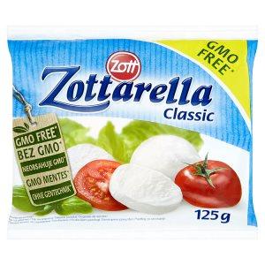 Zott Zottarella Classic mozzarella měkký sýr v solném nálevu 125g