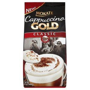 Mokate Cappuccino gold 1000g, vybrané druhy