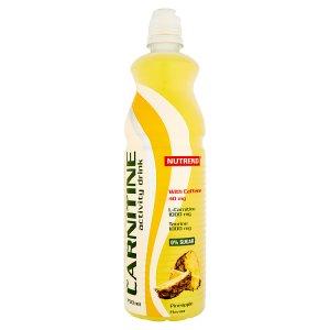 Nutrend Horský Pramen Carnitine drink 750ml, vybrané druhy