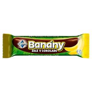 ORION BANÁNY v čokoládě 45g