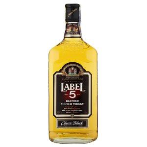Label 5 Classic black jemná míchaná skotská whisky 70cl