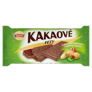 Sedita Kakaové rezy s kousky oříšků 50g