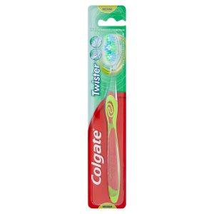 Colgate Twister Střední zubní kartáček