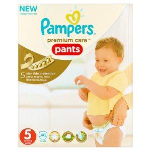 Pampers Premium care Jednorázové plenkové kalhotky 5 junior 40 ks