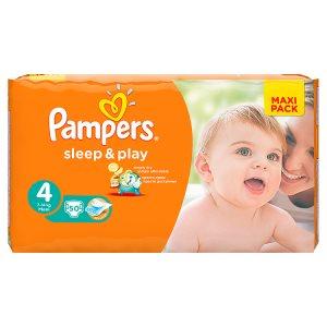 Pampers Sleep&Play Pleny 4 Maxi 50 ks