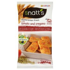 Snatt's Chléb s rajčaty a oreganem 120g