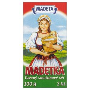 Madeta Madetka tavený smetanový sýr 100g