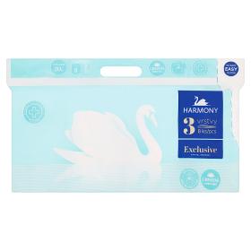 Harmony Exclusive toaletní papír 3-vrstv. 8 rolí, vybrané druhy