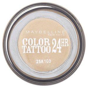Maybelline Color Tattoo oční stíny, vybrané druhy