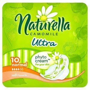Naturella Camomile Ultra normal hygienické vložky s jemnou vůní 10 ks