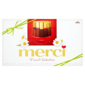 Merci 8 druhů vybraných čokoládových specialit 400g