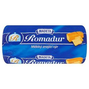 Madeta Romadur Měkký zrající sýr 100g, různé druhy