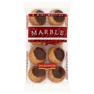 Delasheras Mini muffiny mramorové 180g