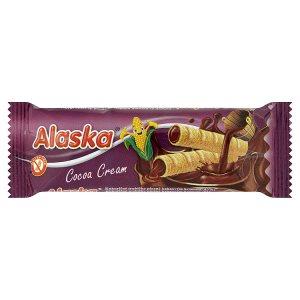 Alaska Kukuřičné trubičky plněné kakaovým krémem (83%) 18g