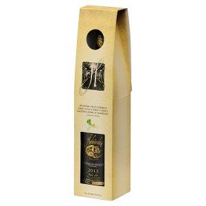 Habánské Sklepy Chardonnay víno s přívlastkem polosuché bílé dárkové balení 0,75l
