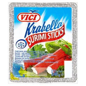 Vici Krabella Surimi rybí tyčinky s krabí příchutí, hluboce zmrazené 240g