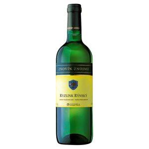 Znovín Znojmo Ryzlink rýnský odrůdové jakostní bílé suché víno 0,75l