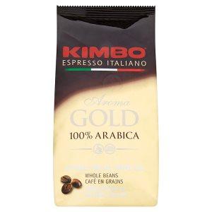 Kimbo Aroma Gold pražená zrnková káva 250g