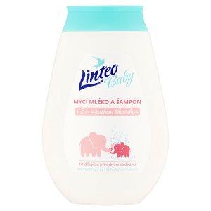 Linteo Baby Mycí mléko a šampon s bio měsíčkem lékařským 250ml