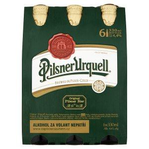 Pilsner Urquell Pivo ležák světlý 6 x 330ml