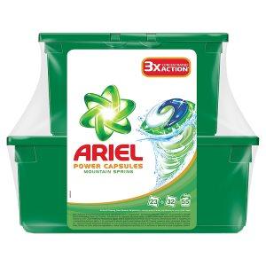 Ariel gelové kapsle 55 dávek, vybrané druhy