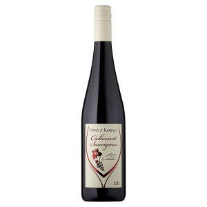 Víno Z Kobylí Cabernet Sauvignon jakostní víno odrůdové suché 0,75l