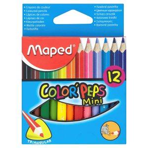 Maped Color' Peps Mini barevné pastelky 12 ks