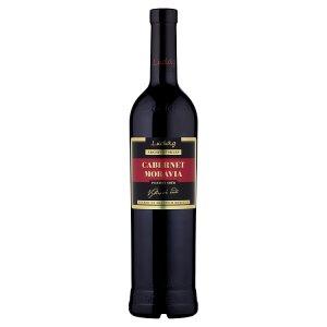 Ludwig Cabernet Moravia jakostní víno s přívlastkem pozdní sběr suché 0,75l