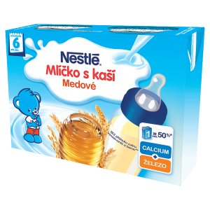 Nestlé Medové mlíčko s kaší 2 x 200ml
