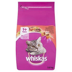 Whiskas granule 3,8kg, vybrané druhy