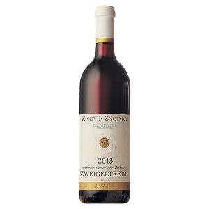 Znovín Znojmo Zweigeltrebe odrůdové jakostní červené suché víno 0,75l
