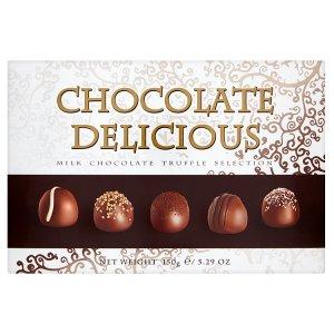 Delicious Chocolate směs plněných pralinek 150g